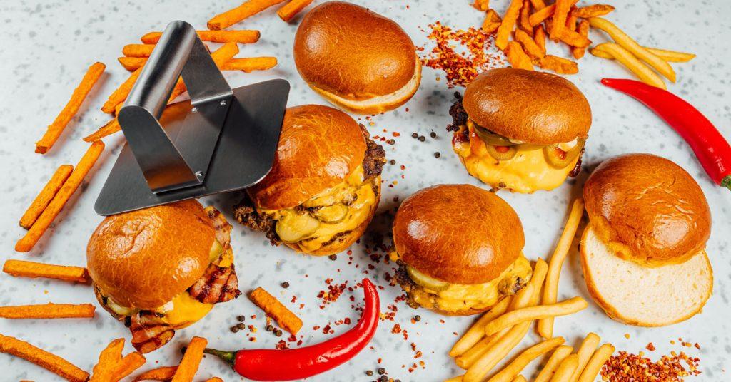 Le Smashed burger